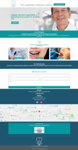 Web Muestra laclinicadental.cl
